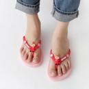 Pink - Moomin women's flip flop
