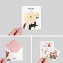 Detail of Flower illustration card set ver.3
