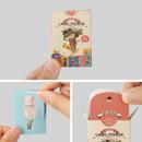 Detail of Sweety label paper sticker set
