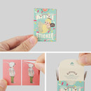 Detail of Sweety small label sticker set