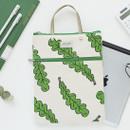 Jam Jam pattern zipper small tote bag