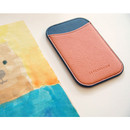 01 - Simple two tone flat card holder