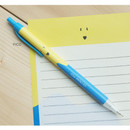 Pico - Ice cream knock retractable black ballpoint pen 0.38mm