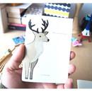 Deer - Bear Deer small plain notebook
