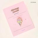 Ice cream - Always sweet badge