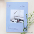Blue lazy - Lagom one month undated daily planner