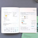 Weekly plan - Lagom one month undated daily planner