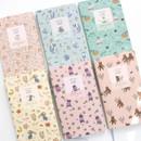 Willow pattern slim undated diary scheduler