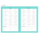 Calendar - Chill out undated weekly planner