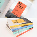 Be still undated daily planner