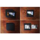 Detail of Square 4X6 Black paper photo frame set