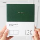 Green - Prism instax mini slip in photo album