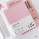 Pink - Prism instax mini slip in photo album