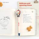 Ruri - Hellogeeks petite parisien color gel pen