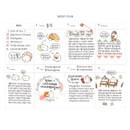 Weekly plan - Molang undated weekly diary agenda