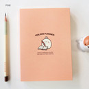 Pink - Molang undated weekly planner scheduler ver2