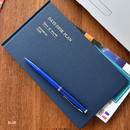Blue - Days desk hardcover undated weekly planner