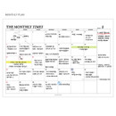 Monthly plan - The Monthly times desk planner notepad