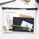 Clear zip lock pouch