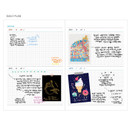 Daily plan - Arte undated daily diary scheduler ver2