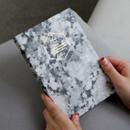 Black stone - Arte undated daily diary scheduler ver2