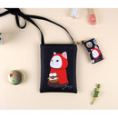 Red hood - Choo Choo cat small crossbody bag