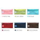 Colors of Holiday travel clean pocket mesh pouch