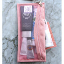 Pastel pink - Holiday travel clean pocket mesh pouch
