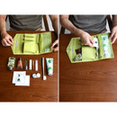 How to use - Holiday travel hanging toiletry pouch bag