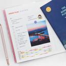 Weekly plan - Bon Bon 1 month undated planner scheduler