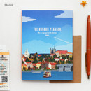 Prague - Bon Bon small undated monthly planner