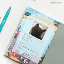 Personal data - Bon Bon small undated monthly planner