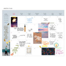 Monthly plan - Bon Bon small undated monthly planner