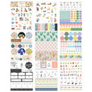 Diary deco sticker 9 sheets in one set ver8