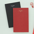 Life and pieces simple idea plain notebook