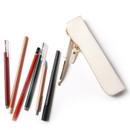 Simple compact zipper pencil case