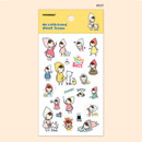 Best - My little friend cute illustration transparent sticker