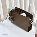 French brown - Holiday select cross shoulder bag