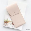 Indi pink -  Un jour de chance pocket pencil case