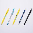 Ggo deung o retractable black ballpoint pen 0.38mm