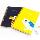Ggo deung o spiral bound lined notebook