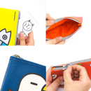 Ggo deung o friends zipper pencil case