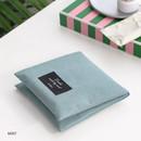 Mint - Plain secret daily cotton pouch