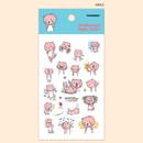 Smile - PONYBROWN Hongnyangssi cute illustration paper sticker
