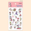 Let's go - PONYBROWN My little friend cute illustration paper sticker