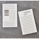 Paperpack Graphic untitled list plain notebook