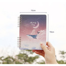 Size - Pleple My story spiral bound undated daily diary planner