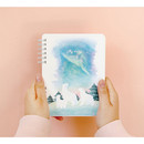Pleple My story spiral bound undated daily diary planner
