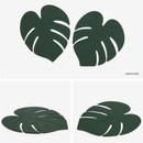 Monstera - Dailylike Enjoy your kitchen silicon drink coaster set