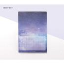 Milky way - Pleple My story illustration squared manuscript memo notepad